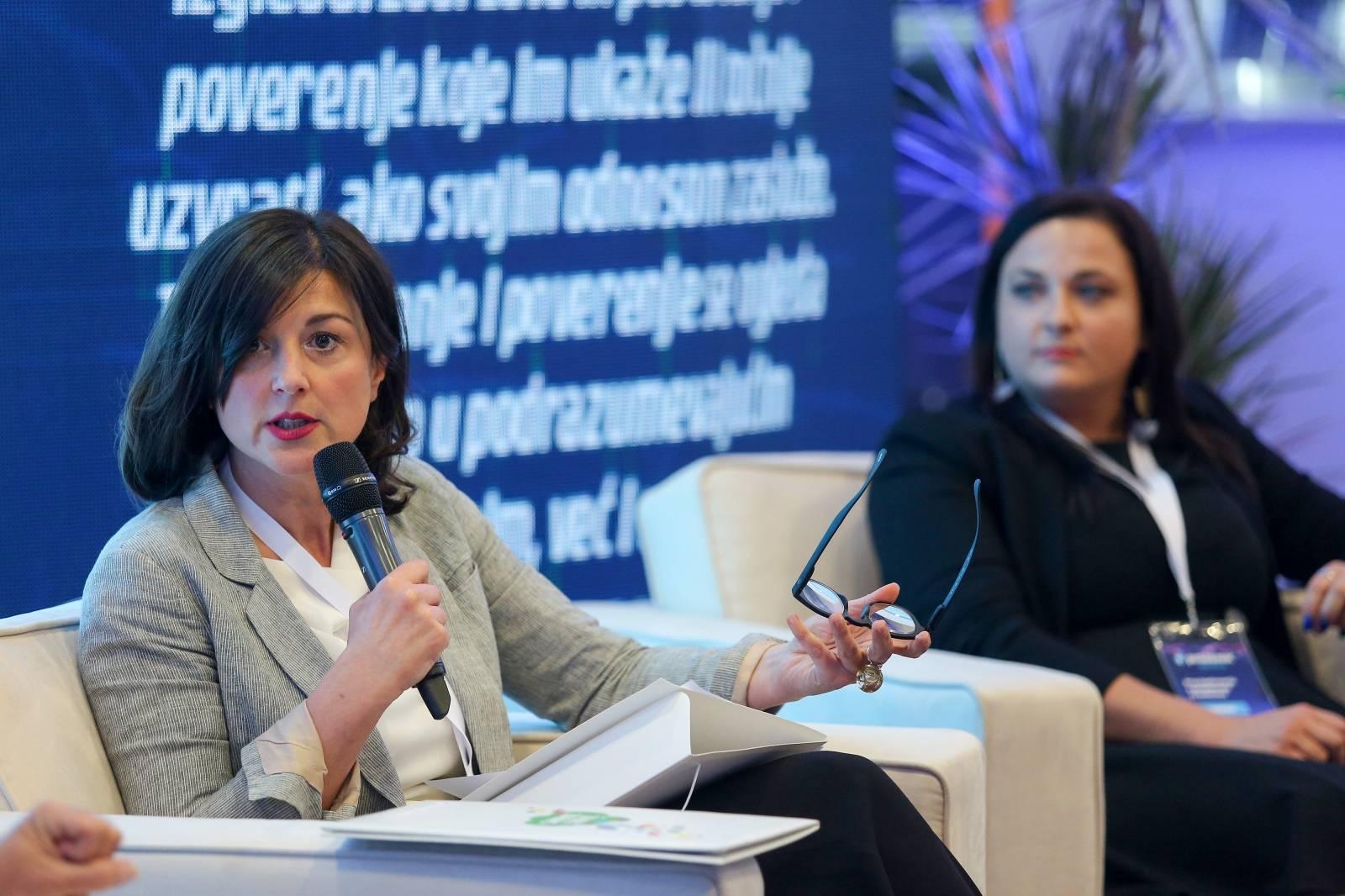 """Zagreb: Panel """"Sretni i na poslu"""" tijekom konferencije Poslodavac 3.0"""