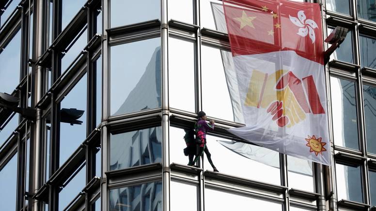 Francuski 'Spiderman' popeo se na neboder u Hong Kongu