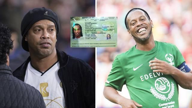 Ronaldinho uhićen u Paragvaju! Napravio je lažnu putovnicu...