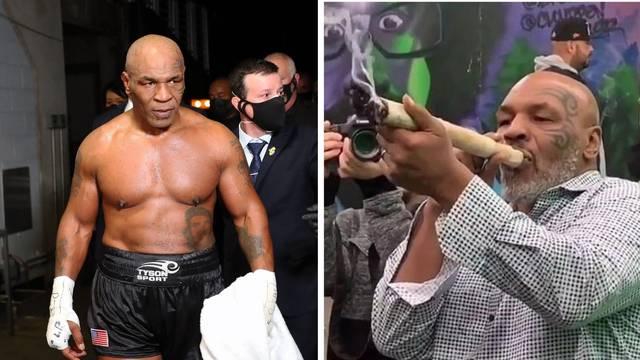 Tyson se napušen k'o dimnjak borio protiv Jonesa: Volim moj džoint, ne mogu prestati pušiti