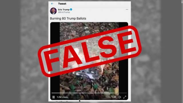 'Pale listiće ljudi koji su glasali za mog oca, potkopavaju ga!: I Trumpov sin širi lažne vijesti