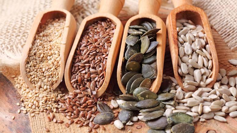 Šest najzdravijih sjemenki za naš organizam - izvor vitalnosti