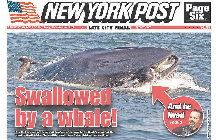 'Progutao me kit pa ispljunuo. Nisam mu bio previše ukusan'