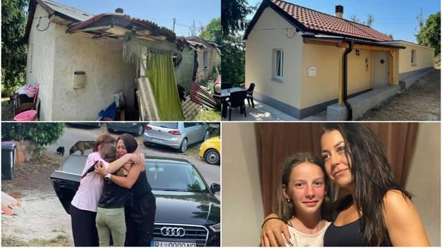 Sretan kraj humanitarne akcije Nikite iz 'Večere za 5': Kuća Ene i njezine mame sad je kao nova