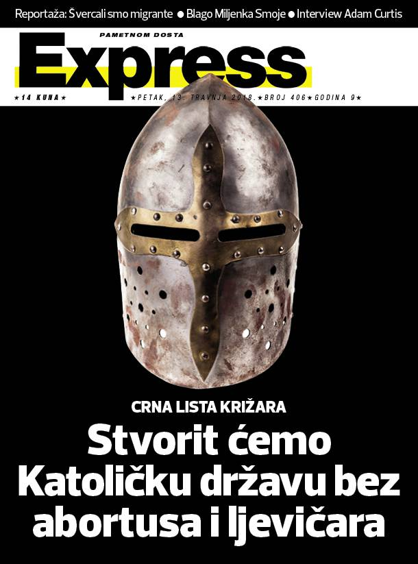 Novi Express: Abortus je prvi, a Andrej Plenković drugi cilj