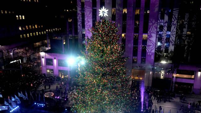82nd Annual Rockefeller Christmas Tree Lighting Ceremony - New York