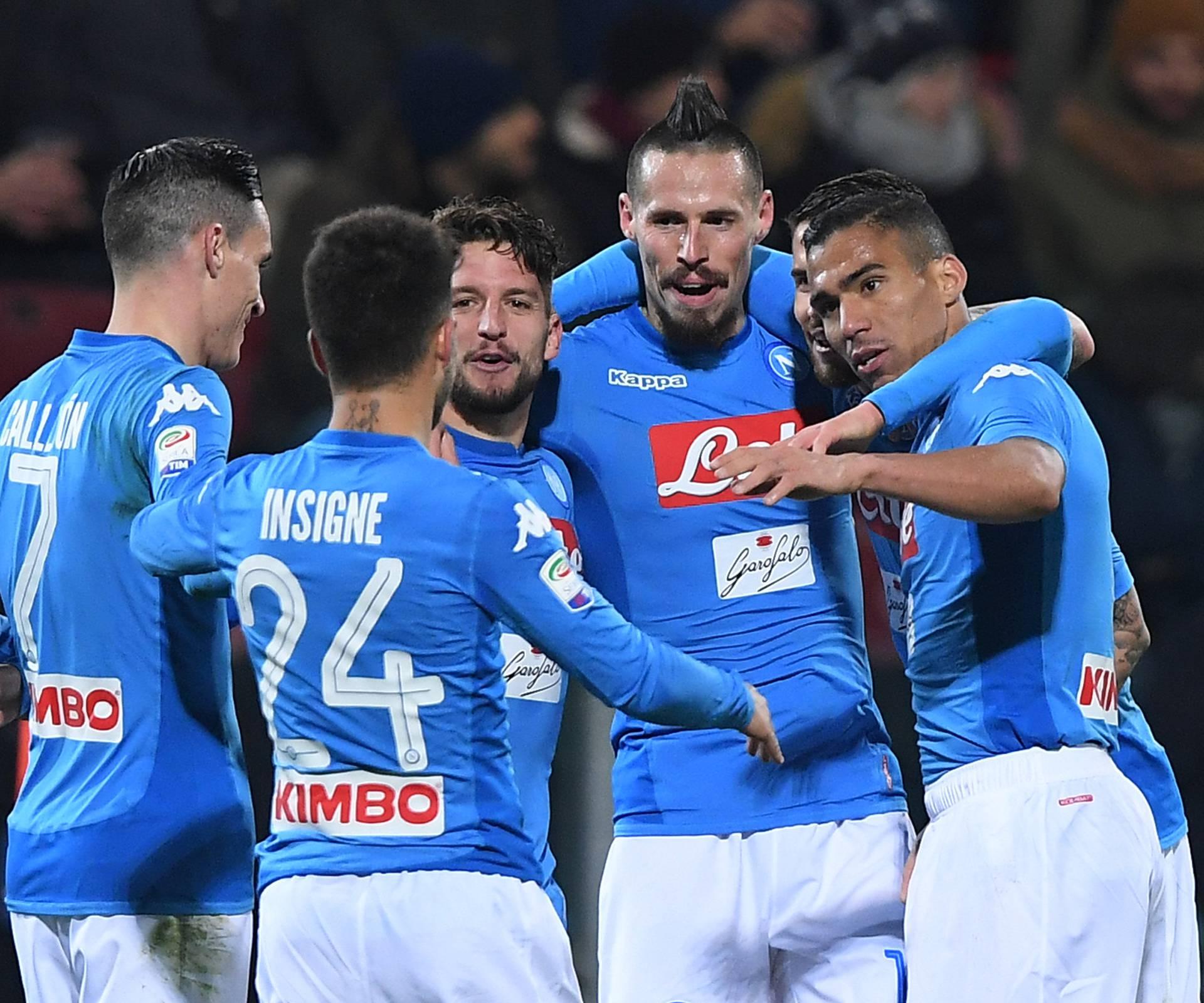 Serie A - Cagliari Calcio vs Napoli