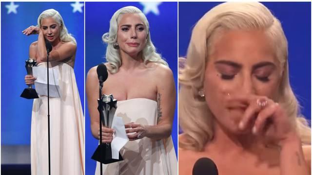 Lady GaGa pobjegla s dodjele nagrada: 'Moj anđeo mi umire'