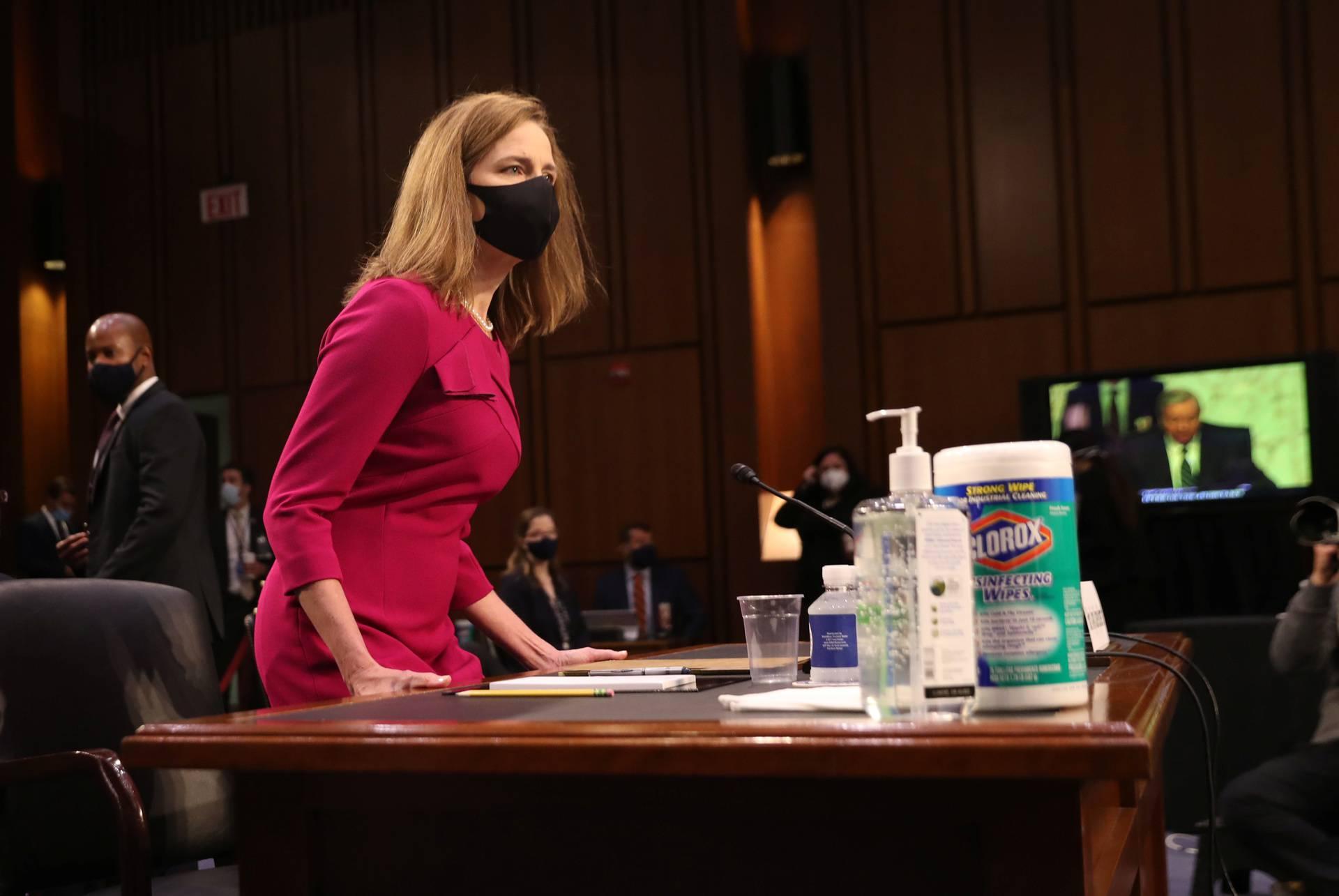 SAD: Započelo je saslušanje konzervativne sutkinje Barret