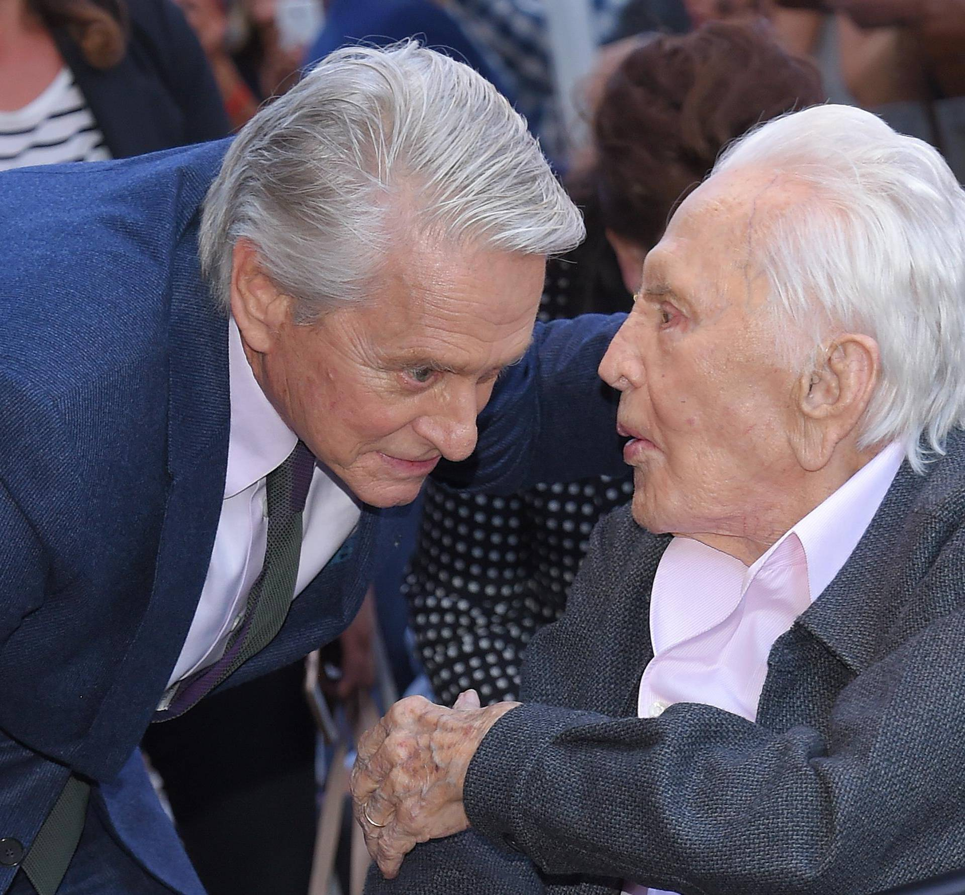 Michael Douglas Hollywood Walk of Fame Ceremony - Los Angeles