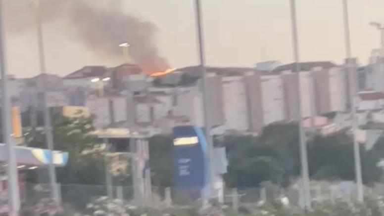 Požar u Splitu: Gori suha trava