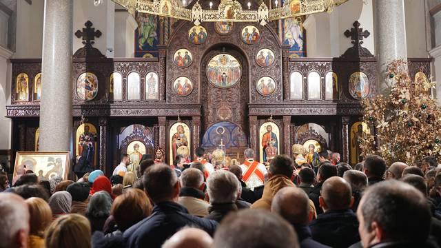 Banja Luka: Patrijarh Irinej služio misu povodom trećeg dana Božića