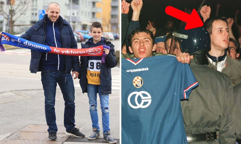 Ja sam taj čovjek s fotografije: Sina učim kako se voli Dinamo