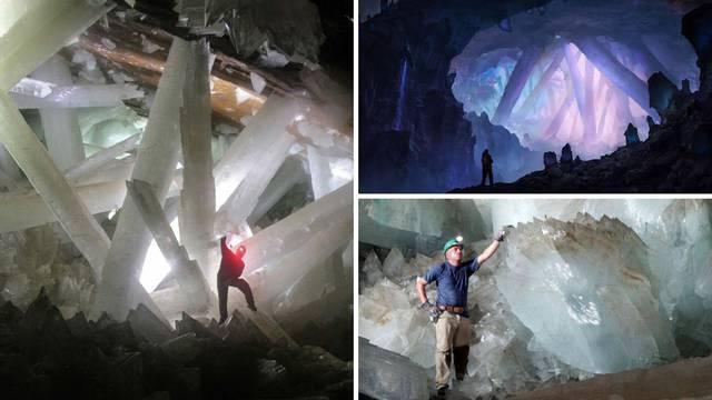 Impresivni kristali skriveni su u špilji u Meksiku, teže do 55 tona