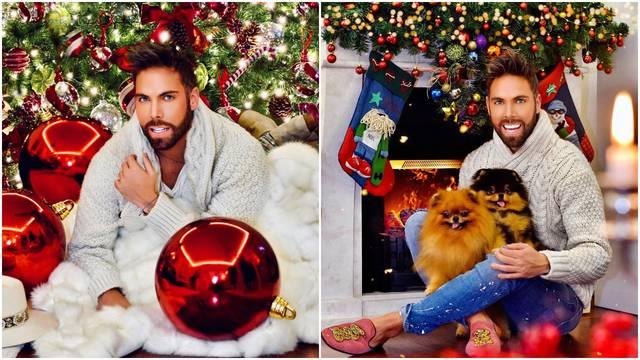 'Okitio sam dom bez dekoratera i uživam u božićnoj čaroliji...'