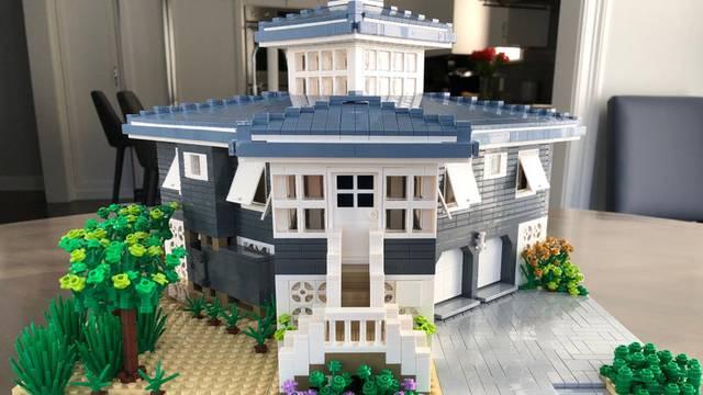 Tko to ne bi htio? Pretvorite svoj dom u prave LEGO kockice