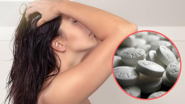 Top 10 problema koje aspirin rješava - perut, akne, mrlje...
