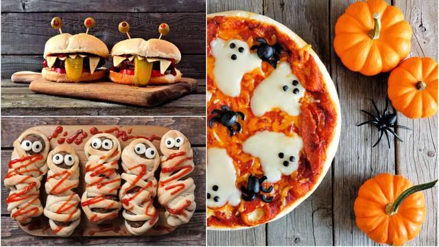 Recepti za Noć vještica: Peku se hrenovke mumije i strašna pizza