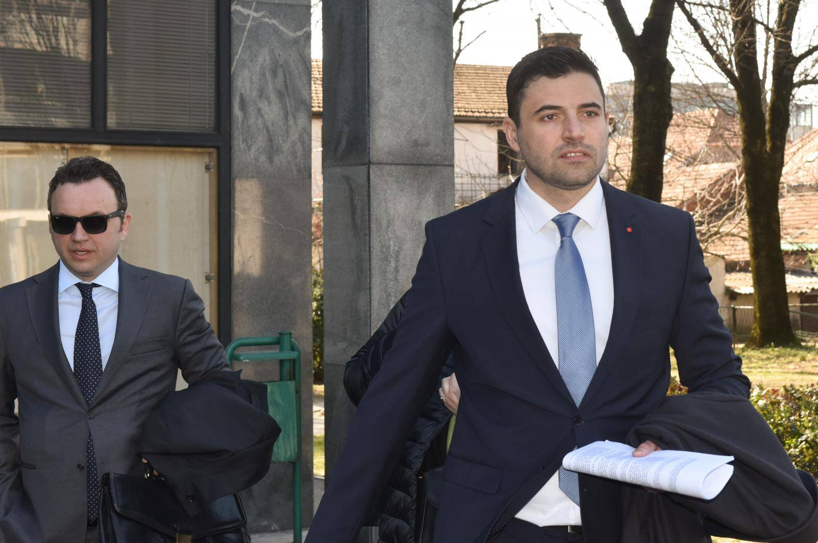 Zagreb: Održano ročište povodom tužbe Ante Ramljaka protiv Davora Bernardića
