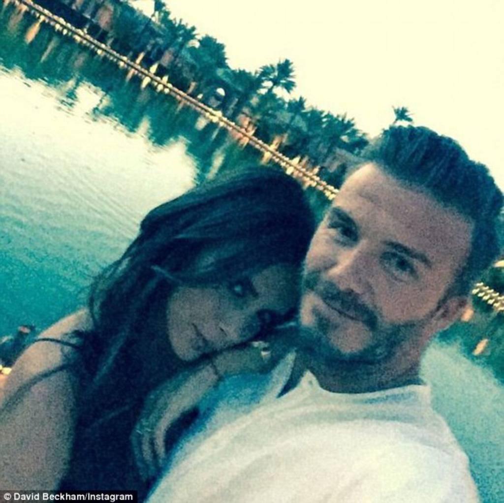 David Beckham Instagram