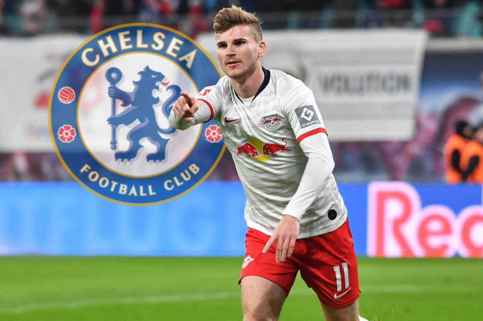 Timo WERNER apparently before moving to Chelsea FC ..