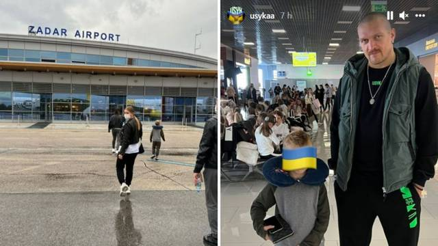 Iznenadni posjet Usika u 'Lijepu našu': Stigao s obitelji u Zadar