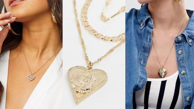 Detalji za prave romantičarke: Raznoliki nakit s motivom srca