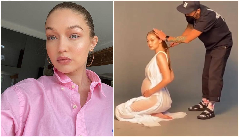 Hadid ovjekovječila trudničke dane: 'Bit ćeš savršena mama'
