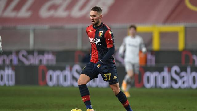 Italian football Serie A match - Genoa CFC vs Bologna FC