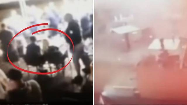 VIDEO Draga, ajmo mi polako: Doveo curu na piće u Dubravu, a oko njih 80 najgorih huligana