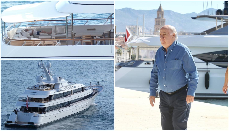 Vlasnik Zare odmara u Splitu: Drijemao na jahti pa prošetao