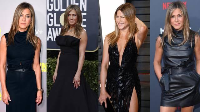 Stylish haljine: Jennifer Aniston za crveni tepih bira samo crno