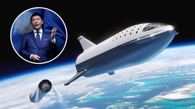 Japanac će biti prvi turist na Mjesecu, ali  'gore' neće ići sam