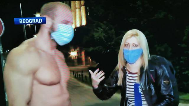 Nabildani Srbin s prosvjeda je zaludio brojne djevojke: 'Dala bih mu da me drži u podrumu'