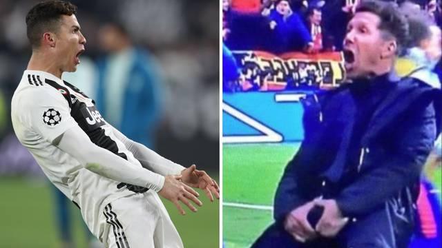CR: Zato me Juventus doveo! Cholo: On je jedan od najboljih