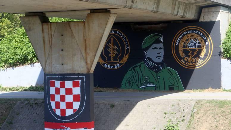 Karlovac: Mural mu napravili ispod mosta na kojem je ubio zarobljene rezerviste JNA