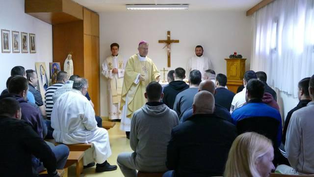 Nadbiskup Marin Barišić je na Uskrs posjetio zatvorenike