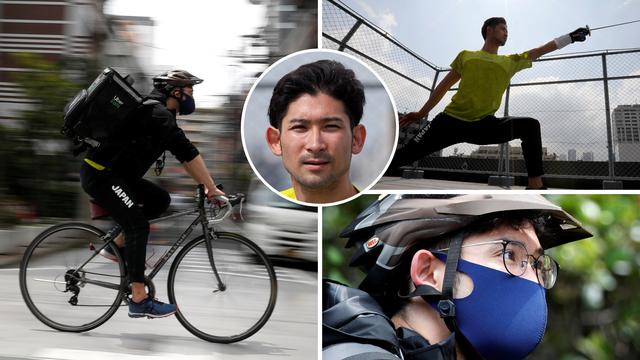 Olimpijac odbio lovu sponzora: Dostavlja biciklom za 150 kuna