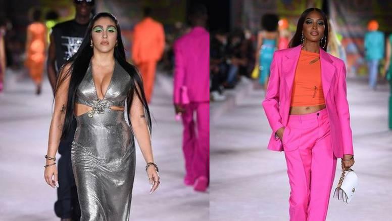 Zvijezde Versace revije: Od Leon Lourdes do legendarne Naomi