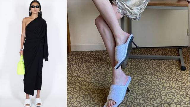 Moderan dizajn: Balenciaga predlaže hibrid papuče i štikle