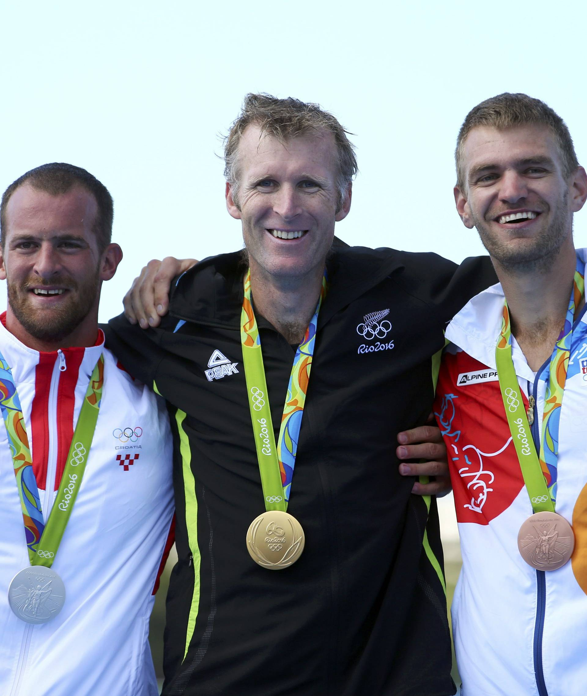Rowing - Men's Single Sculls Victory Ceremony