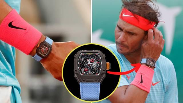 Nadal s najskupljim satom u povijesti tenisa igra - mečeve: Vrijedi okruglih milijun dolara!