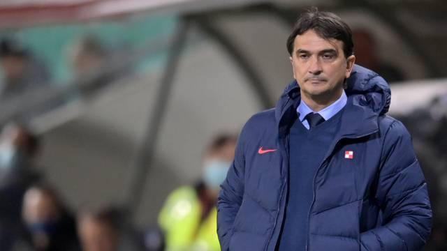 Ljubljana: Kvalifikacijska utakmica za Svjetsko nogometno prvenstvo između Slovenije i Hrvatske