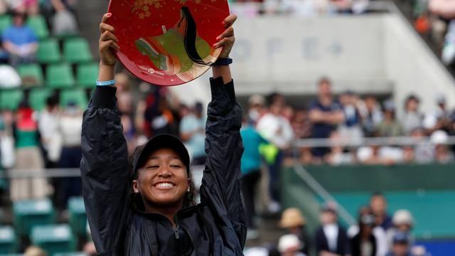 Tennis - Pan Pacific Open - Women's Singles - Victory Ceremony
