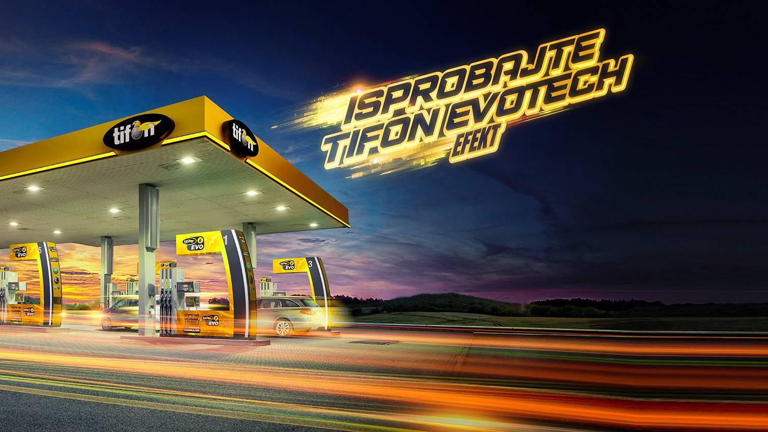 Tifon je najveća mreža benzinskih postaja koja nudi isključivo goriva s aditivima