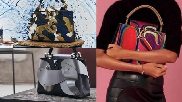 Louis Vuitton Capucines torbica dobila je umjetnički makeover