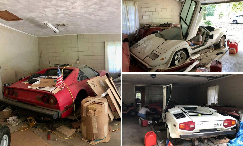 Blago u bakinoj garaži: Našla je aute vrijedne 3,5 milijuna kuna