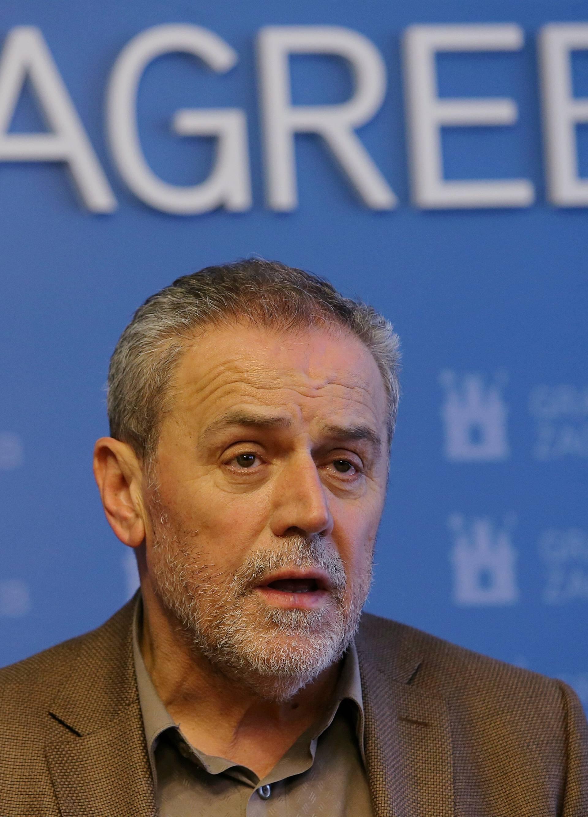 Zagreb: Milan Bandić održao konferenciju za medije na temu Akti gradonačelnika