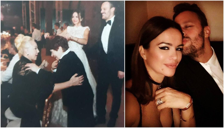 'Cure' fotke sa svadbe: Brena Severininu mamu učila plesati