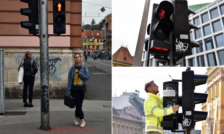 Zagreb dobio semafor za one koji stalno gledaju u mobitel